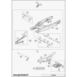 Bras oscillant (Husaberg FE 450 2014)
