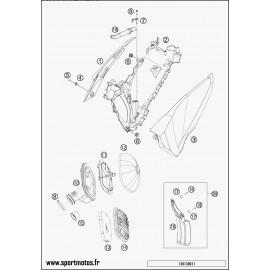 Filtre à air (Husaberg FE 450 2014)