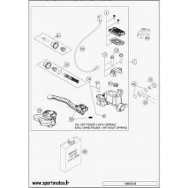Cylindre de frein avant (Husaberg FE 450 2014)