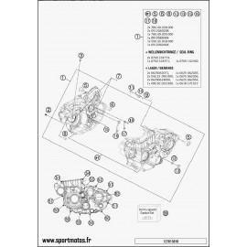 Carter moteur (Husaberg FE 501 2014)