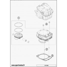 Cylindre (Husaberg FE 501 2014)
