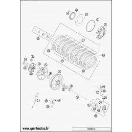 Embrayage (Husaberg FE 501 2014)