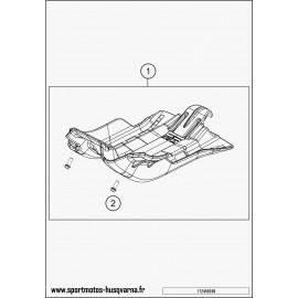 Protection moteur, sabot (Husqvarna TE 250 2017)
