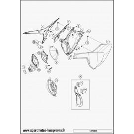 Filtre à air (Husqvarna TE 250 2017)