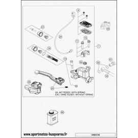 Cylindre de frein avant (Husqvarna TE 250 2017)