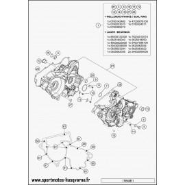 Carter moteur (Husqvarna TE 250 2017)