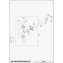 Boîte à clapets (Husqvarna TE 250 2017)
