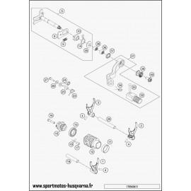 Mécanisme Chgt vitesse (Husqvarna TE 250 2017)