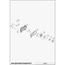 Pompe à eau (Husqvarna TE 250 2017)