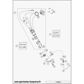 Pompe à essence (Husqvarna FE 350 2017)