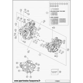 Carter moteur (Husqvarna FE 350 2017)