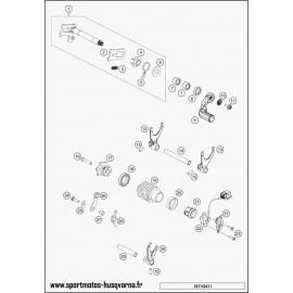 Mécanisme Chgt vitesse (Husqvarna FE 350 2017)
