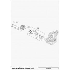 Pompe à eau (Husqvarna FE 350 2017)