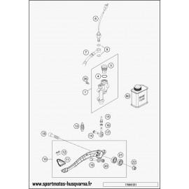 Commande de frein arrière (Husqvarna FE 450 2017)