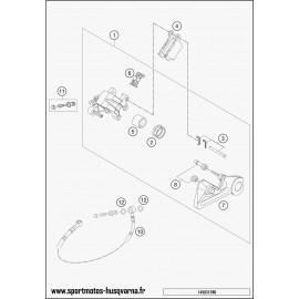 Etrier de frein arrière (Husqvarna FE 450 2017)