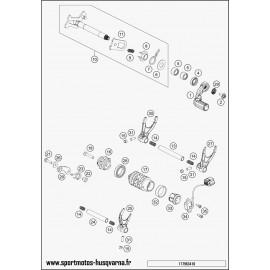Mécanisme Chgt vitesse (Husqvarna FE 450 2017)