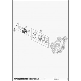 Pompe à eau (Husqvarna FE 450 2017)