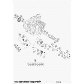 pompe à huile (Husqvarna FE 450 2017)