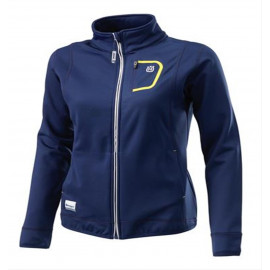 GIRLS BASIC LOGO ZIP JACKET L