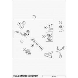 Cylindre de frein avant (Husqvarna TC 85 17 p 2017)
