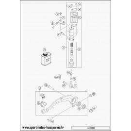 Commande de frein arrière (Husqvarna TC 85 17 p 2017)