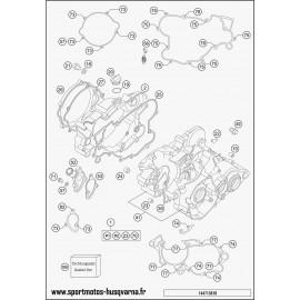 Carter moteur (Husqvarna TC 85 17 p 2017)