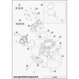 Cylindre (Husqvarna TC 85 17 p 2017)