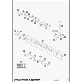 Valves d'échappement (Husqvarna TC 85 17 p 2017)
