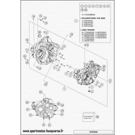 Carter moteur (Husqvarna FC 350 2017)