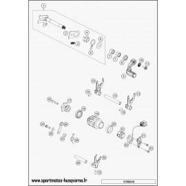 Mécanisme Chgt vitesse (Husqvarna FC 350 2017)