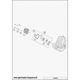 Pompe à eau (Husqvarna FC 350 2017)