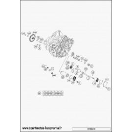 pompe à huile (Husqvarna FC 350 2017)