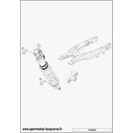 Amortisseur arrière (Husqvarna FC 450 2017)