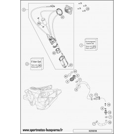 Pompe à essence (Husqvarna FC 450 2017)