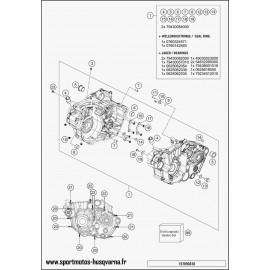 Carter moteur (Husqvarna FC 450 2017)
