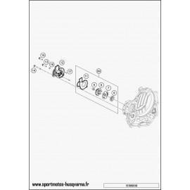 Pompe à eau (Husqvarna FC 450 2017)