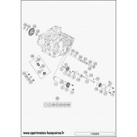 pompe à huile (Husqvarna FC 450 2017)