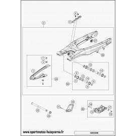 Bras oscillant (Husqvarna FS 450 2017)