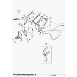 Filtre à air (Husqvarna FS 450 2017)