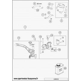 Cylindre de frein avant (Husqvarna FS 450 2017)