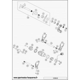 Mécanisme Chgt vitesse (Husqvarna FS 450 2017)