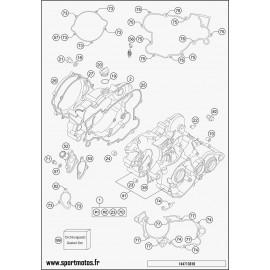 Carter moteur (Husqvarna TC 85 19 p 2016)