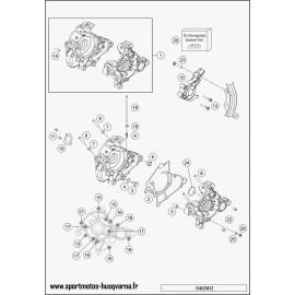 Carter moteur (Husqvarna TC 50 2017)