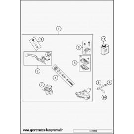 Cylindre de frein avant (Husqvarna TC 85 19 p 2017)