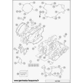 Carter moteur (Husqvarna TC 85 19 p 2017)
