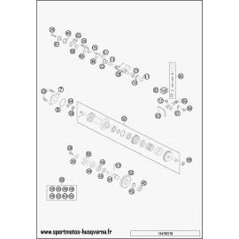 Valves d'échappement (Husqvarna TC 85 19 p 2017)