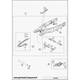 Bras oscillant (Husqvarna TC 125 2017)