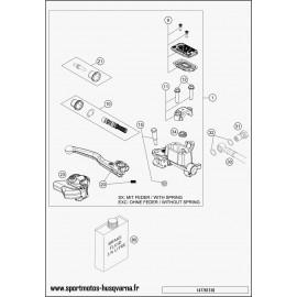 Cylindre de frein avant (Husqvarna TC 125 2017)