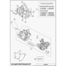 Carter moteur (Husqvarna TC 125 2017)