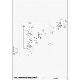Boîte à clapets (Husqvarna TC 125 2017)